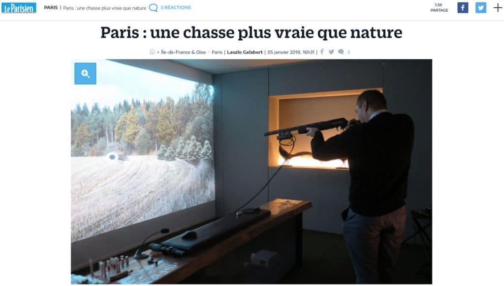 Paris : une chasse plus vraie que nature